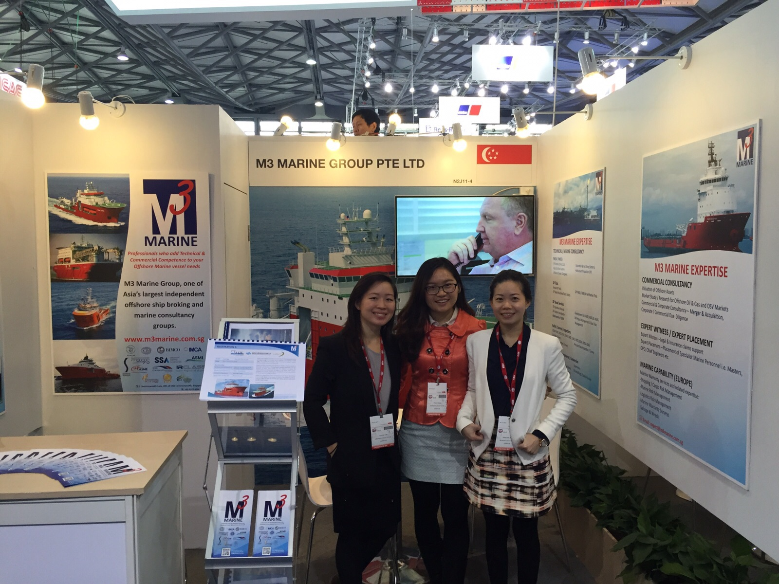 Day 1 of Marintec China 2015