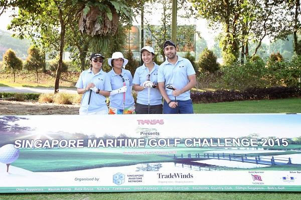 Singapore Maritime Golf Challenge 2015
