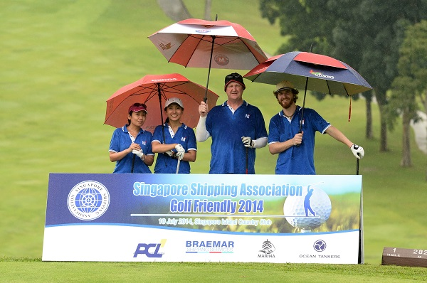 SSA Golf Friendly 2014